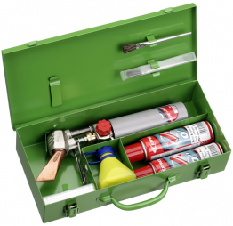 Portable Soldering Irons are designed for quick and easy completion of sheet metal work.