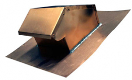 We stock and sell a variety of copper roof vents and copper ventilating dormers for roofs.