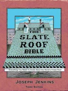 Books, Videos, and Data about slate, copper, and traditional roofing.