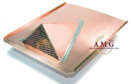 "German-Made Copper Air Vent ""Atlantic"""