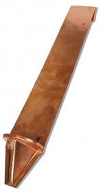 PD10R Standard Retrofit Copper Snow Guards
