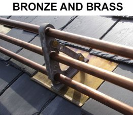 Mullane 500 3-Pipe Brass Snow Rails
