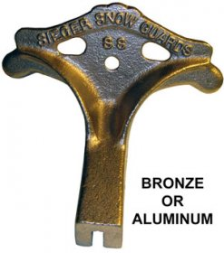 Sieger SS2 Aluminum or Bronze Snow Guard for Standing Seam Roofs