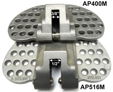 Berger AP400 and AP516 snowguards