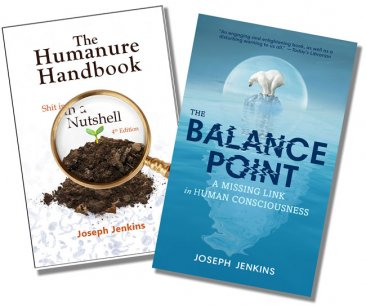 Humanure Handbook and Balance Point Book Combo