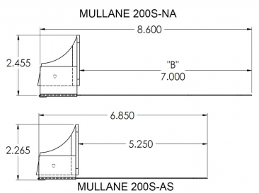 Mullane 200S Snow Guards