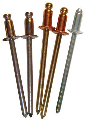 Regular Grip or Longer Grip Length, Copper/Brass or Stainless Steel Rivets