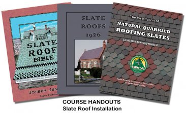 Slate Roof Installation 8-Hour Course