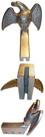 Sieger SS Eagle Aluminum or Bronze Snow Guard for Standing Seam Roofs