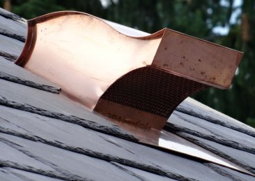 Copper Roof Vent - Salvo #501