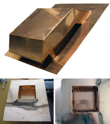 Copper Roof Vent - Salvo #502