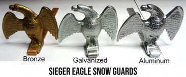 Sieger Eagle Strap Snow Guard