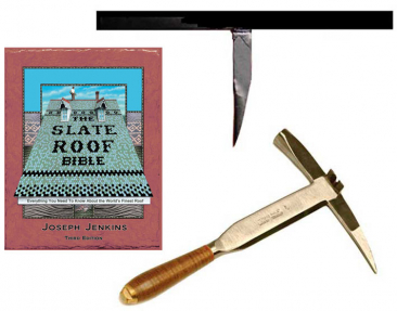 Stortz 2 piece slater's tool set sold at the Slate Roof Warehouse