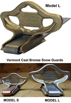 Vermont Model L Snow Guards