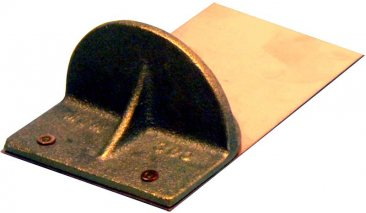 Mullane 300CPSM bronze snow guard for soldering to flat metal roofs