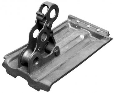 Fitrite #632 3-pipe bronze snow fence bracket for French Tile